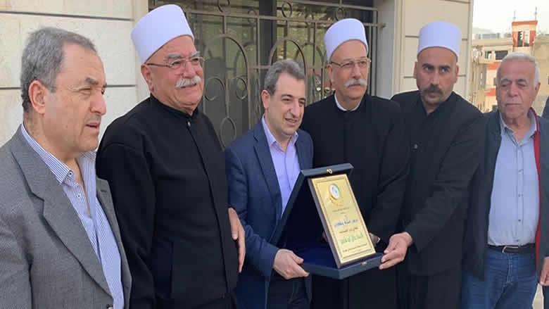 لجنة تواصل المجلس المذهبي تجول في راشيا