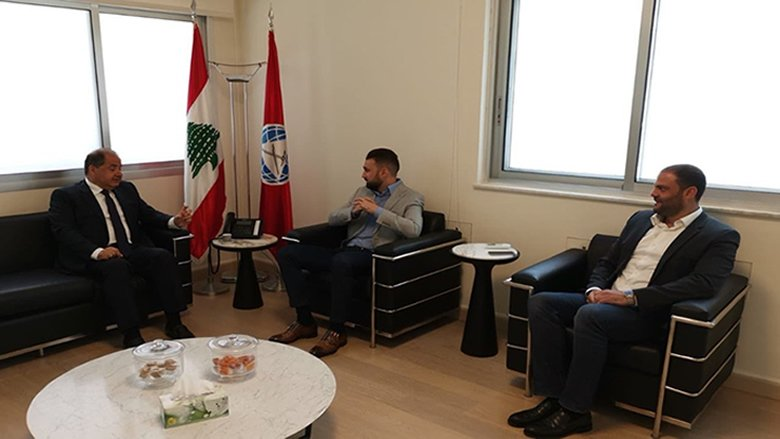 تيمور جنبلاط يستقبل رئيس المجلس الإقتصادي والإجتماعي شارل عربيد