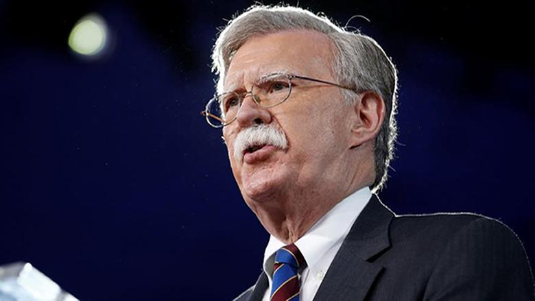 بولتون يتهم طهران بالوقوف خلف الهجمات الأخيرة