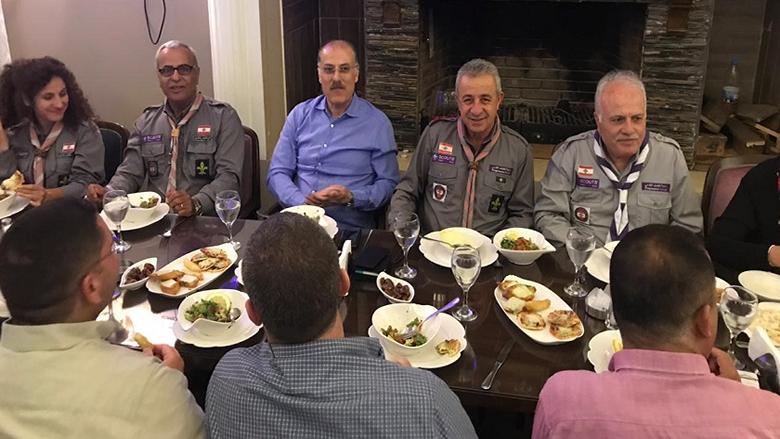 """عبدالله في عشاء """"الكشاف التقدمي"""": نحن الرقم الصعب والأساسي"""