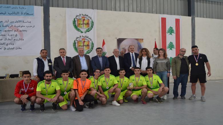 جنبلاط رعى حفل توزيع جوائز دورة المعلم كمال جنبلاط الرياضية في شحيم