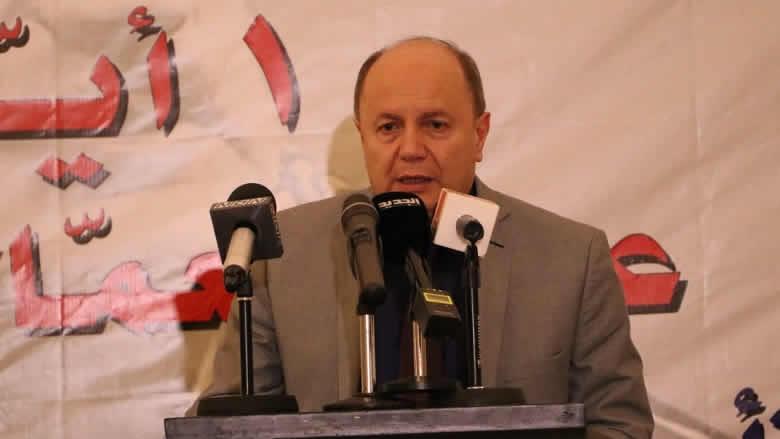 الأسمر: الإضرابات لن تتوقف إلا بإلغاء المادة 61