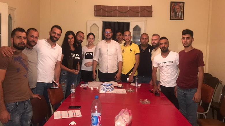 إعادة تأسيس خلية كترمايا في منظمة الشباب التقدمي - مكتب اقليم الخروب
