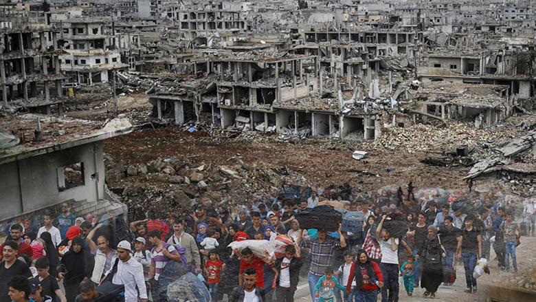 """""""الغارديان"""" تفضح سياسة الأسد التدميرية.. قضى على ممتلكات نازحين في لبنان!"""