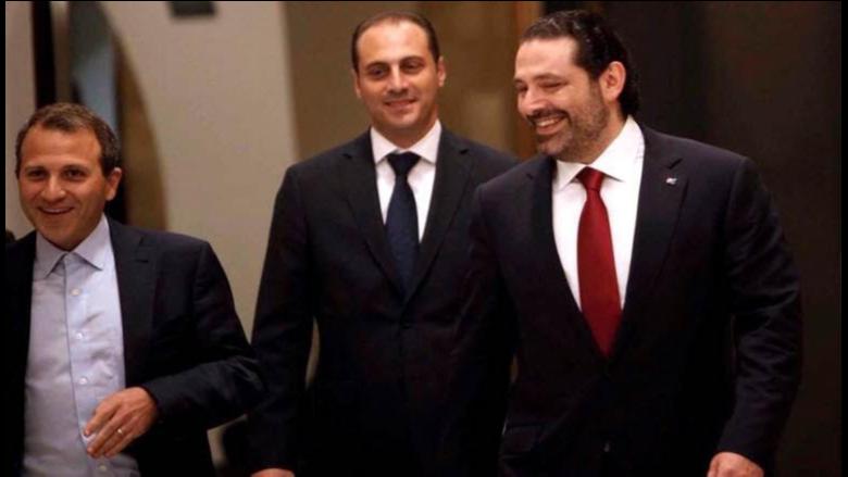 """""""شراكة"""" الحريري وباسيل: التآمر على جنبلاط وجعجع.. وبرّي"""