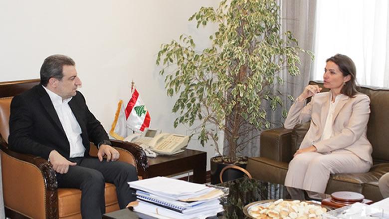 أبو فاعور بحث مع لاسن في زيادة الصادرات الى اوروبا