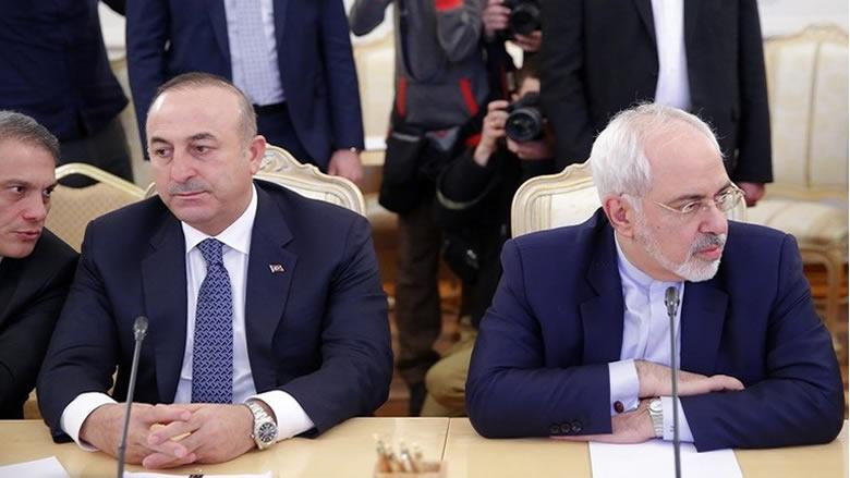 ظريف وأوغلو بصدد التوقيع على وثيقة للتعاون السياسي
