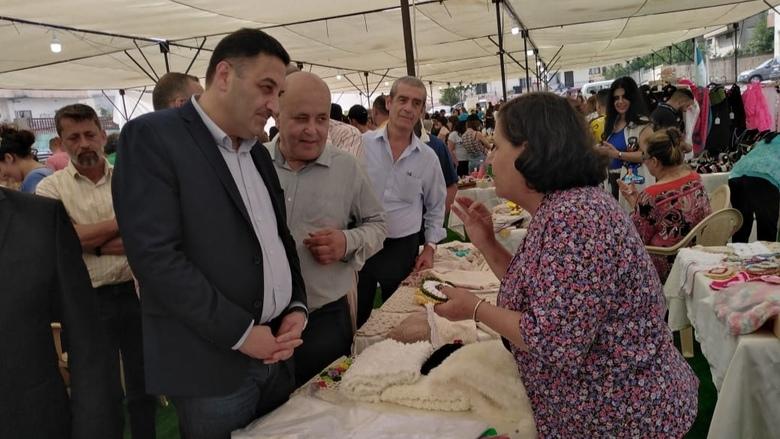 """إفتتاح """"سوق الغلة"""" برعاية النائب تيمور جنبلاط"""