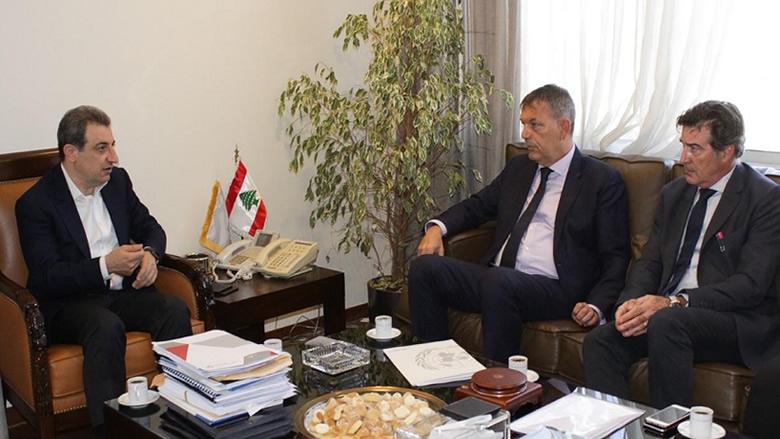 أبو فاعور التقى لازاريني: السياسات المتّبعة بموضوع النازحين السوريين انتقامية