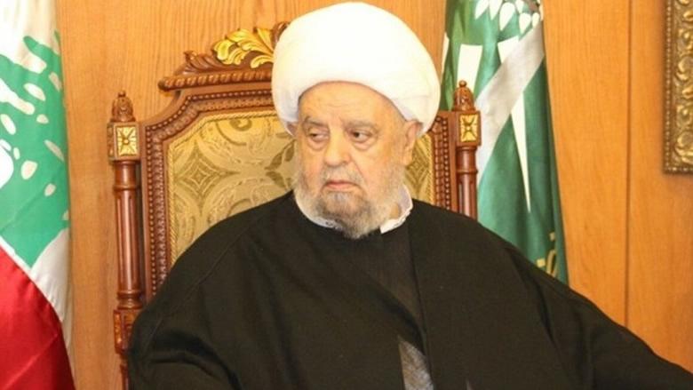 عبد الامير قبلان استنكر العمل الارهابي في طرابلس