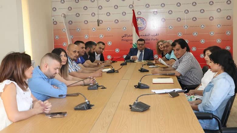 إجتماع لجهاز مفوضية الإعلام يناقش المواضيع الإعلامية العامة والحزبية