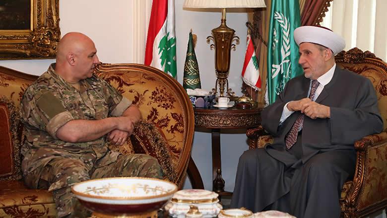 قائد الجيش من طرابلس: الضريبة كانت غالية لكنها شرف لنا