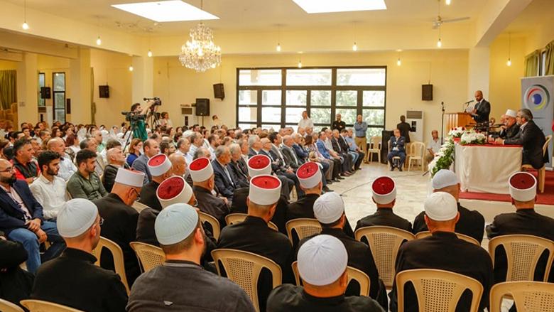 ندوة ضمن نشاطات المجلس المذهبي عن المجتمع التوحيدي في دميت
