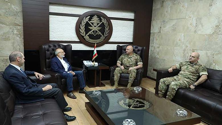 الإمتحانات الرسمية محور اجتماع شهيب وقائد الجيش