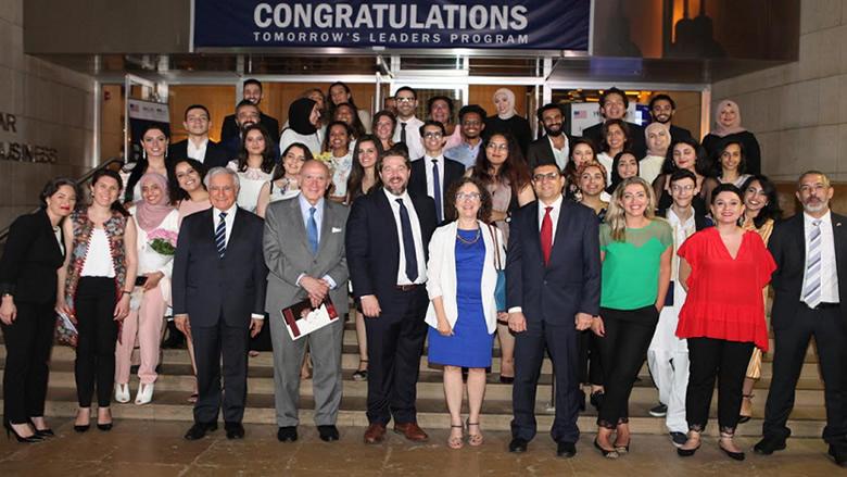 """LAU"" و ""AUB"" احتفلا بتخريج طلاب مبادرة الشراكة الأميركية الشرق الأوسطية"