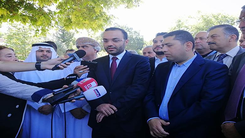 رسالة السفراء العرب من عاليه: لبنان آمن
