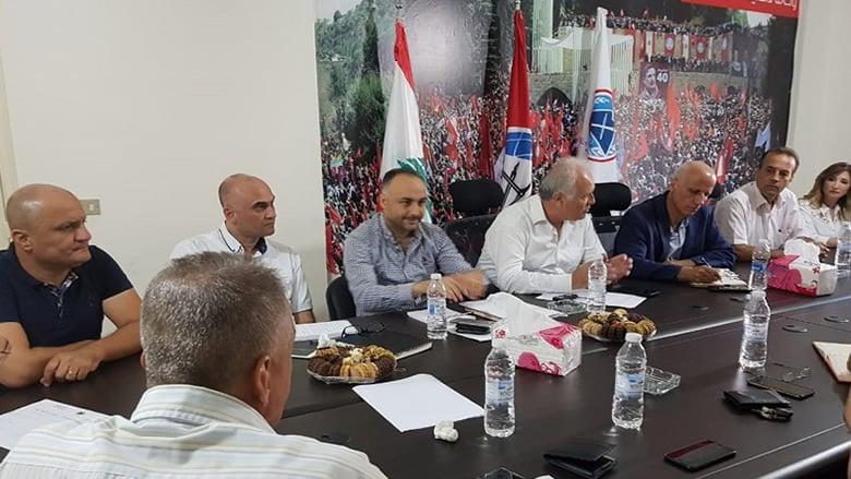 جمعية الخريجين التقدميين تتابع لقاءاتها التنظيمية في المناطق
