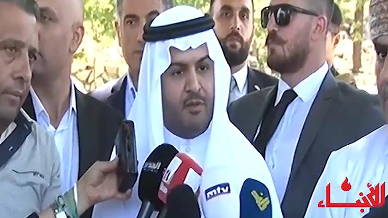 #فيديو_الأنباء: رسالة السفراء العرب من عاليه: لبنان مستقر