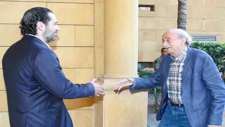 """خاص """"الأنباء"""": لقاء الحريري- جنبلاط... مقاربة مشتركة لعناوين المرحلة المقبلة"""