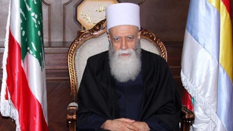 شيخ العقل يؤكد الاحترام للطائفة الشيعية