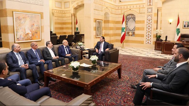 """""""اللقاء الديمقراطي"""" زار الحريري... أبو الحسن: العلاقة مستمرة بالإتجاه الإيجابي"""