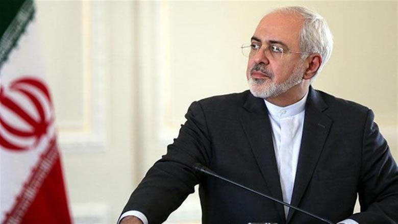 ظريف: ترامب لن يفوز بجائزة التفاوض مع إيران