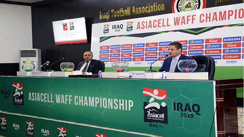 """العراق يواجه لبنان في افتتاح بطولة """"آسياسيل"""" لاتحاد غرب آسيا - العراق 2019"""