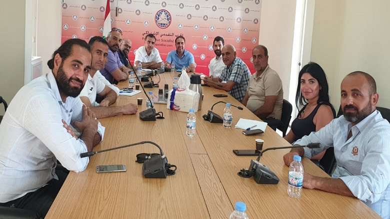 """اجتماع لمفوضية الرياضة بحضور ناصر: """"التقدمي"""" يولي الشأن الرياضي أهمية خاصة"""