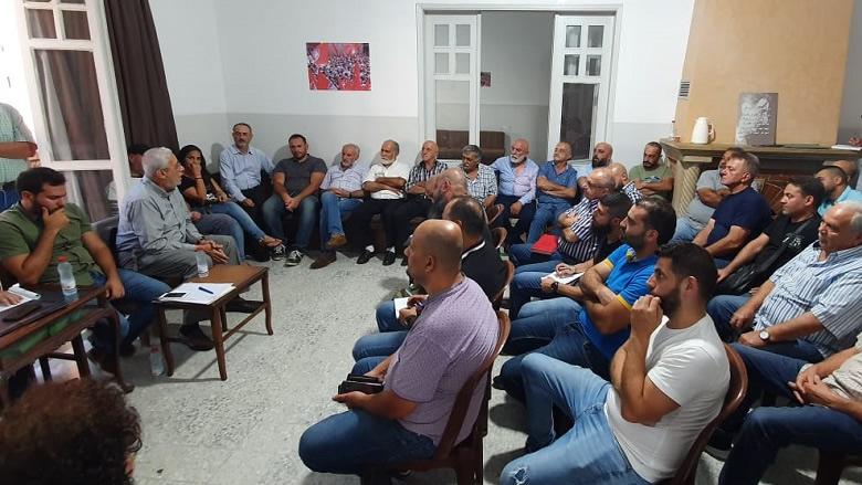 """اجتماع موسع لـ""""التقدمي""""- عاليه بحضور ناصر الدين"""