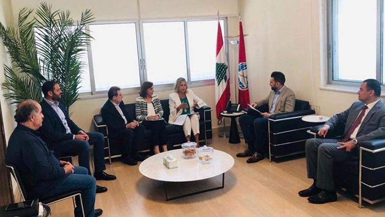 تيمور جنبلاط إستقبل رئيسة الهيئة الوطنية لشؤون المرأة كلودين عون