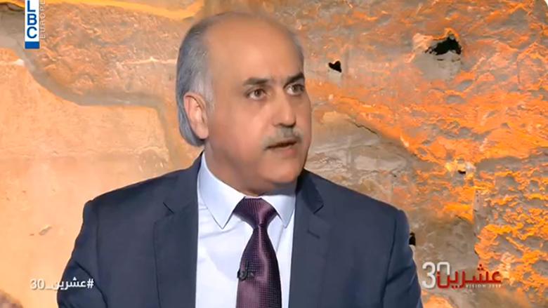 أبو الحسن: وحده الخطاب الرزين يضبط الشارع... وجنبلاط لن يعود إلى بيت الطاعة السوري!