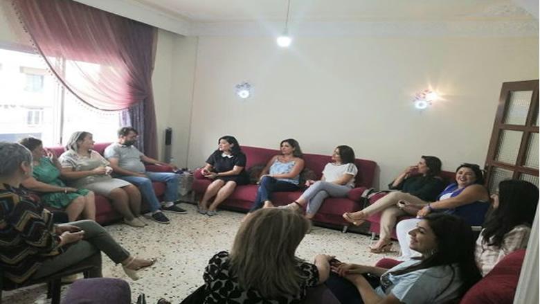 """مفوضية الشؤون النسائية في """"التقدمي"""" زارت عائلات الموقوفين: صاحب الحق سلطان"""