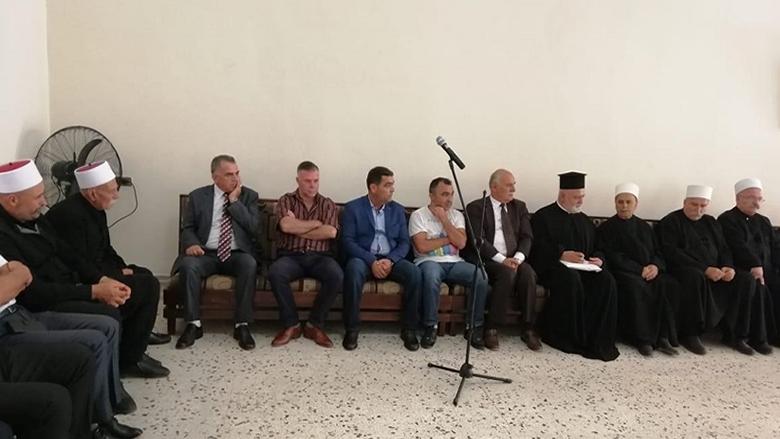 لقاء معايدة في نيحا الشوف بمشاركة الأب جوزيف خوري