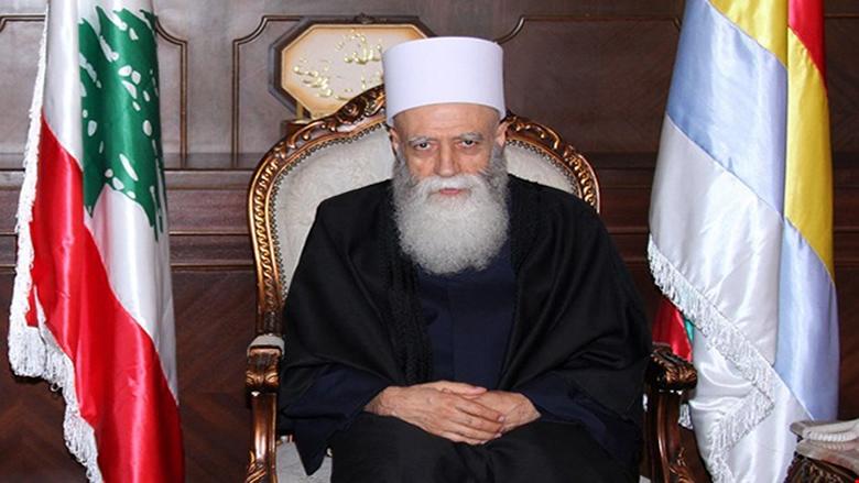 شيخ العقل تلقى اتصالات مهنئة بالأضحى من الرؤساء عون وسليمان وسلام ورئيس القوات اللبنانية