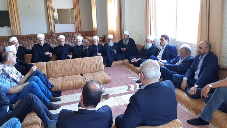 """""""التقدمي""""- الشوف يجول على المساجد والمزارات الدينية مهنئا بالأضحى بتكليف من جنبلاط"""