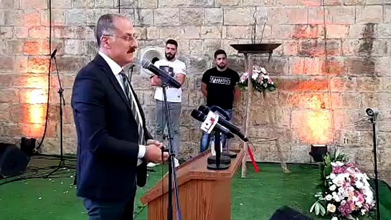 إحياء ساحة المصالحة في مزرعة الشوف... وعبدالله سنحتضن رئيس البلاد كأب للجميع