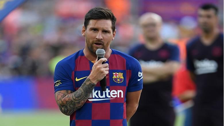 رسمياً ميسي يغيب عن مباراة برشلونة وأتلتيك بلباو