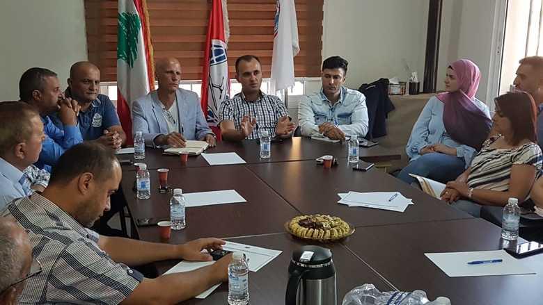 """لقاء موسع لخريجي """"التقدمي"""" في راشيا"""