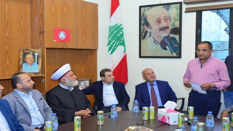 """أبو فاعور إفتتح مركزاً جديداً لـ """"التقدمي"""" في الزعرورية: إنه مكتب الوفاء والشهامة"""