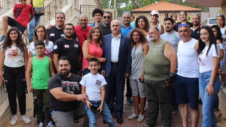 ابو الحسن يرحب بنادي الهامر اللبناني في المتن الأعلى: لبنان يحتاج لمبادرات ايجابية من أبنائه