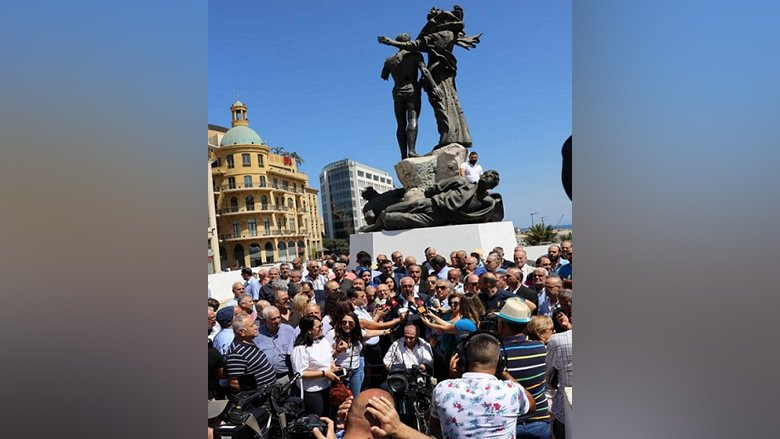 إعتصام إعلامي موسع في ساحة الشهداء: الصحافة اللبنانية في خطر!