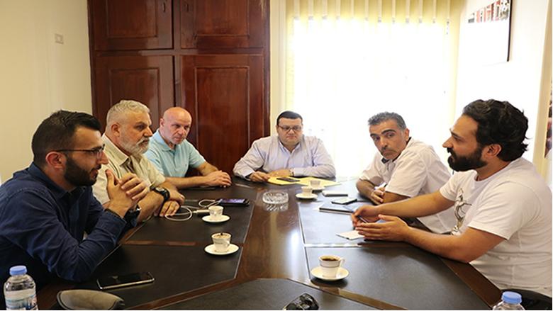 """إجتماع تحضيري في مركز """"التقدمي"""" إستعداداً لنهائيات النخبة لبطولة لبنان في """"المواي تاي"""""""