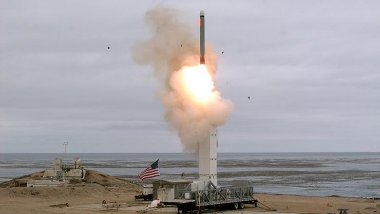 البنتاغون يكشف عن هدف صاروخه الجديد