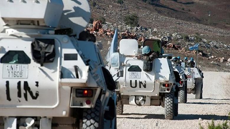 دوريات لليونيفل على بعض النقاط الحدودية في رأس الناقورة والظهيرة