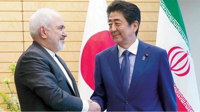 ظريف لرئيس الوزراء الياباني: إيران لا تسعى لزيادة التوتر