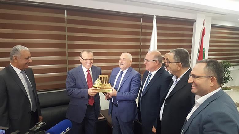 جبق في لقاء مع نظيره العراقي: لتعزيز التعاون ودعم العراق