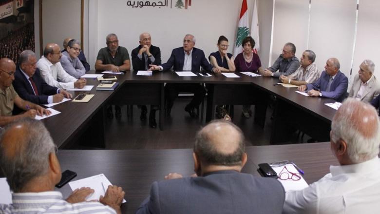 لقاء الجمهورية: الرد على اعتداء اسرائيل مسؤولية الدولة