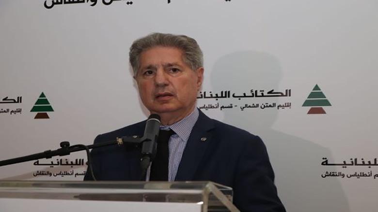 الرئيس أمين الجميّل: لاعادة النظر بالتسوية الرئاسية التي خالفت الانتظام العام