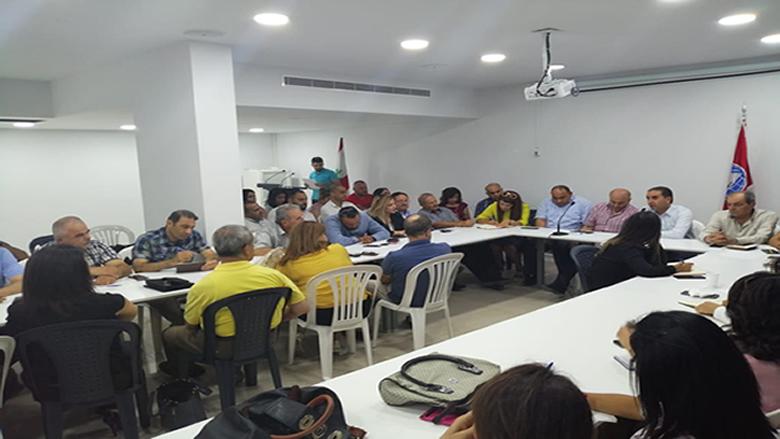 """إجتماع موسع لـ """"مفوضية الثقافة"""" بحضور ناصر"""