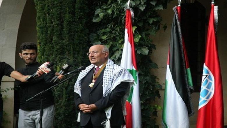 التكريم الفلسطيني للعريضي: محطة جديدة على طريق النضال